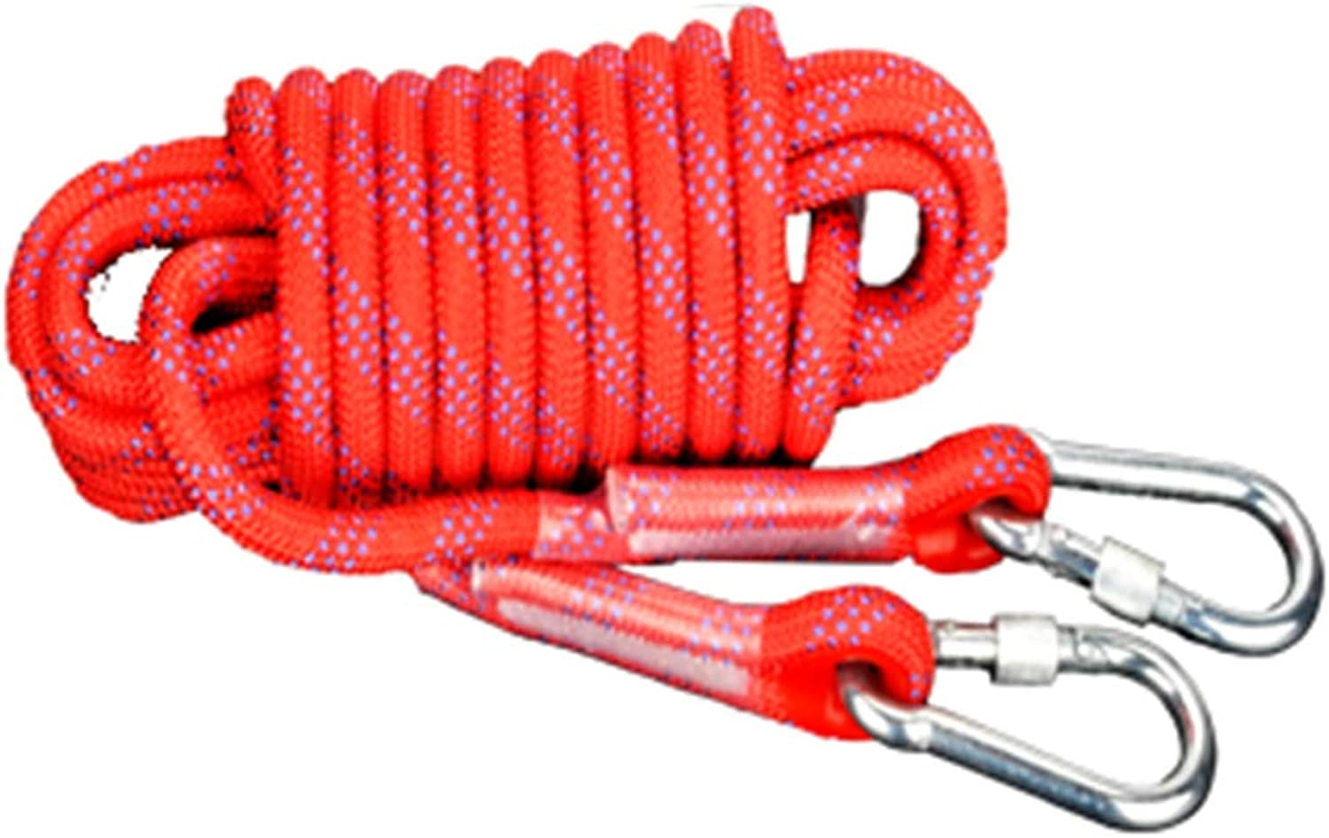 Outdoor Mountaineering Camping Bundled Escape Slip Rope,Red10mm10m