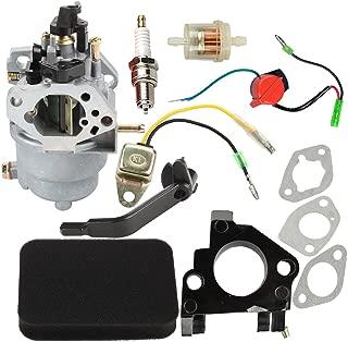 Butom 0J58620157 Carburetor with Air Filter Insulator Oil Sensor Compatible for Generac Jingke Huayi Kinzo Ruixing Portable Generator GP5500 GP6500 GP6500E GP7500E GP5000 8125W