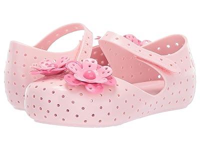 Mini Melissa Mini Furadinha XII (Toddler/Little Kid) (Light Pink) Girls Shoes