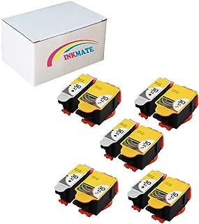 INKMATE Re-Manufactured Ink Cartridge for Kodak 30XL for ESP3.2 C110 C310 C315 Office 2150 Office 2170 Hero 3.1 Hero 5.1 5Black/5Tri-Color, 10Pack
