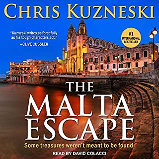 The Malta Escape audiobook cover art