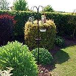 HomeZone Traditional Style Garden Bird Feeding Station Wild Bird Hanging Feeder for Garden