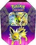 Lively Moments Pokemon Tin Box Jolteon / Blitza EN Inglés Promo Trading Card Game / Caja de metal