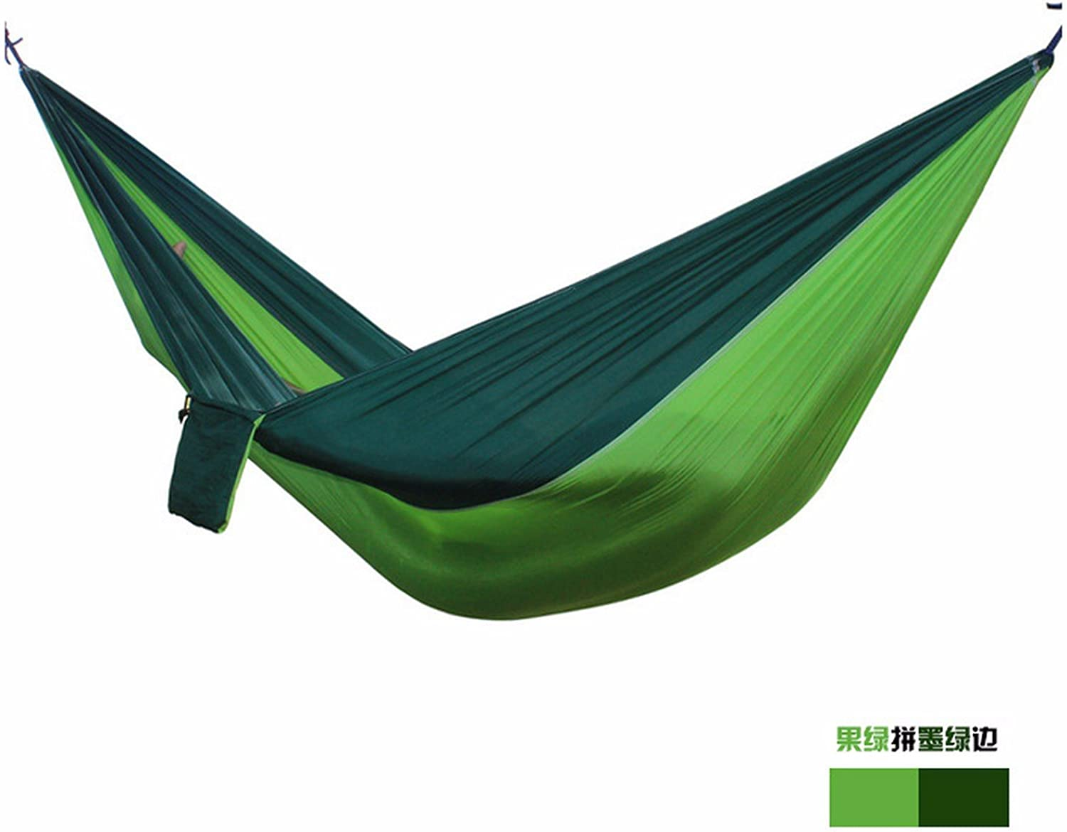 OLQMYOutdoor, Double Parachute Silk Hammock, Widen Indoor Hammock Swing, Casual, 275140cm