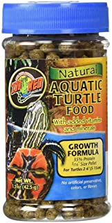 Zoo Med Aquatic Turtle Food Growth Formula [Set of 2] Size: 1.85 Oz. best prices on amazon