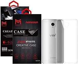 جراب Margoun لهاتف Lenovo Vibe P1 Turbo Shieldz جراب شفاف ناعم من مادة TPU غطاء حماية خلفي - شفاف