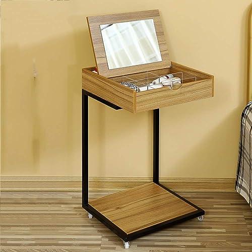de moda BJYG Mesa Plegable Mesa de de de tocador Multifuncional extraíble para Escritorio de portátil Mesita 40  40  70 cm (Color  B)  tienda en linea