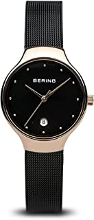 BERING Women's Analogue Quartz Watch with Stainless Steel Strap 13326-262