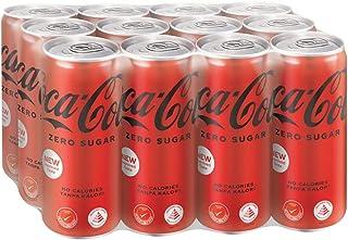 Coca-Cola Zero Sugar, 320ml (Pack of 12)