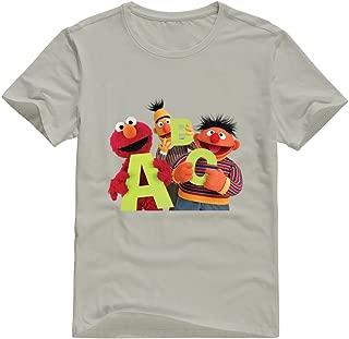 StaBe Men Sesame Street Logo T-Shirt Short Sleeve Humor XXL Natural