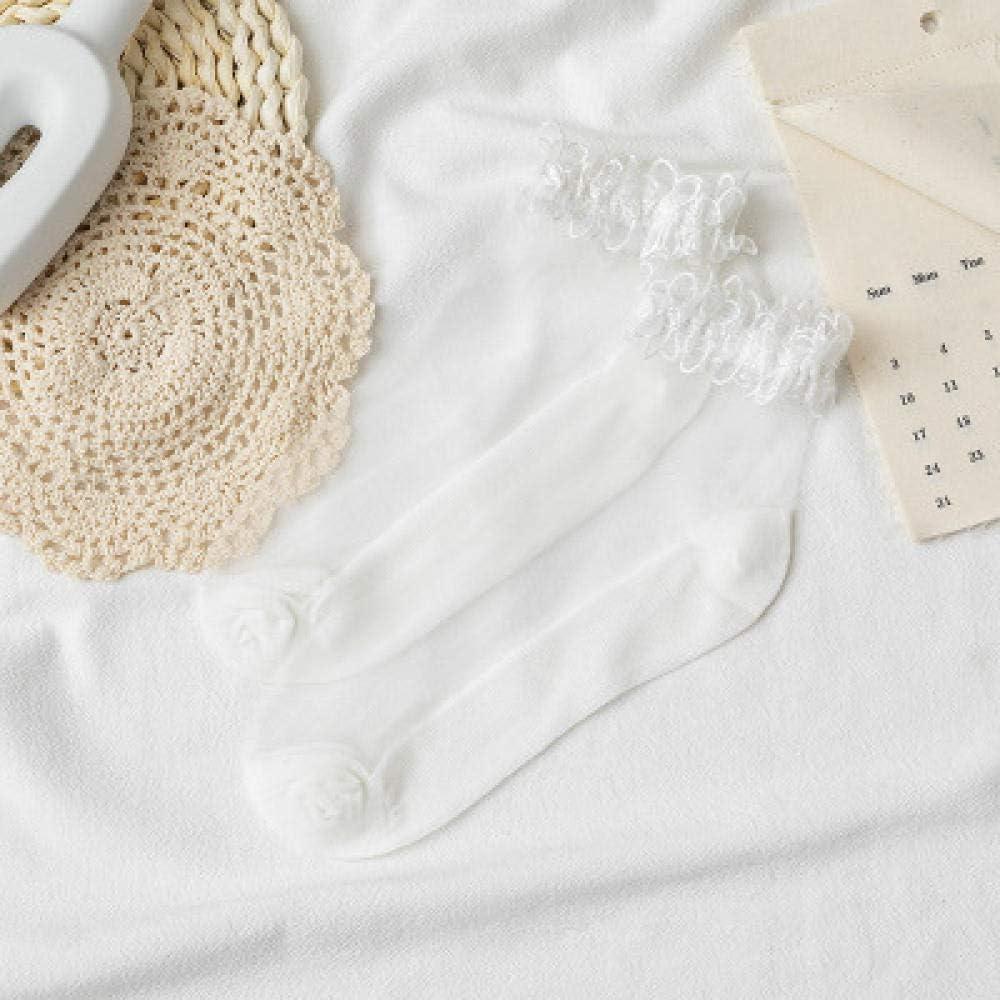 BESI 3 pairs Lace Ladies Sheer Socks Transparent Thin Crystal Silk Cotton Sole Elegant Women Ankle