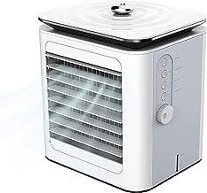Mini Air Cooler Desktop 3 in 1 Draagbare Mini Airconditioning Luchtkoeler & Luchtbevochtiger Fan & Purifier Air Vervaarder...