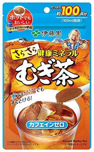 伊藤園さらさら健康ミネラルむぎ茶80g(チャック付き袋タイプ)