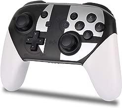 Railay Wireless Controller for Nintendo Switch,Pro Controller Bluetooth Gamepad Joypad (Black-White)