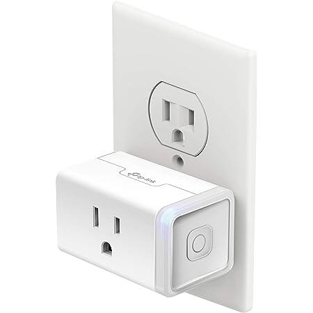 Kasa Smart KP115 Energy Monitoring Smart Plug, White
