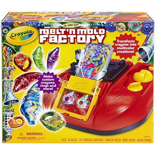 Product Image of the Crayola Melt 'N Mold Factory, (74-7060)