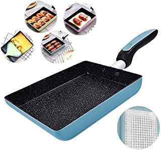 LZC Omelettpanna/gg-panna, bästa non-stick omelettspanna, stenbeläggning kokpanna, diskmaskinsäker, induktionskkompatibel