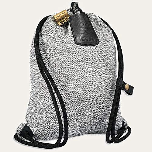 loctote Flak Sack Sport New 2020 - Sport Grey - Diebstahl Schutz Tasche mit Schloss