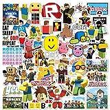 YUESEN Sticker Pack 100 PCS Roblox Adesivi per Computer Portatili per Adesivi Stickers Vinili per Computer Portatile, Automobili, motociclette, Bicicletta, Skateboard Bagagli, autoadesivi paraurti