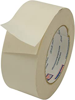 "Intertape 597/BEIG236 597 Double-Sided Vinyl Tape: 2"" x 36 yd, Beige"
