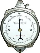 Zenport Accuzen Hanging Mechanical Dial Scale 50-lbs Silver