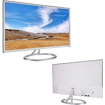 Wendry Monitor LCD Full HD de 27 Pulgadas, Pantalla de Juegos LCD Curvada sin Marco de resolución 1080, diseño Ultra Delgado, Pantalla de Filtro BLU-Ray sin Parpadeo para Proteger los Ojos(UE): Amazon.es: