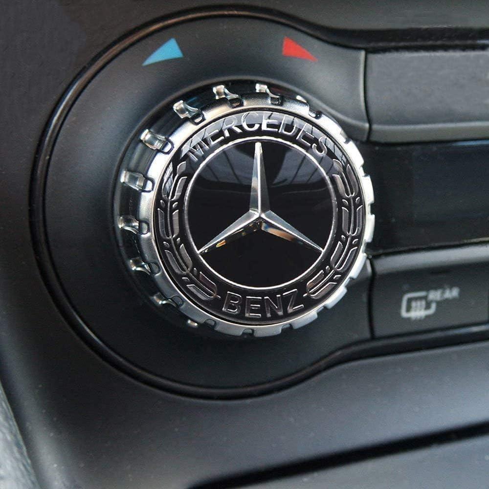 Autaces Car Wheel Center Hub Caps Compatible with Mercedes Benz,75mm//3 Inch Hub Cap Cover Car Caps Compatible with Mercedes Benz All Models with 4 pcs Hub Caps-Blue