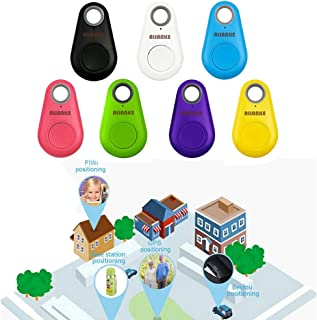 $22 » Alianke Set of Seven Colors Smart GPS Tracker, Key Finder, Locator, Wireless Anti-Lost Alarm Sensor Device, Used for Phone...