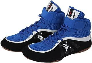 Kangrui Wrestling Shoes Boxing Boots Rubber Sole Combat Training Shoes for Men&Women&Children Kids