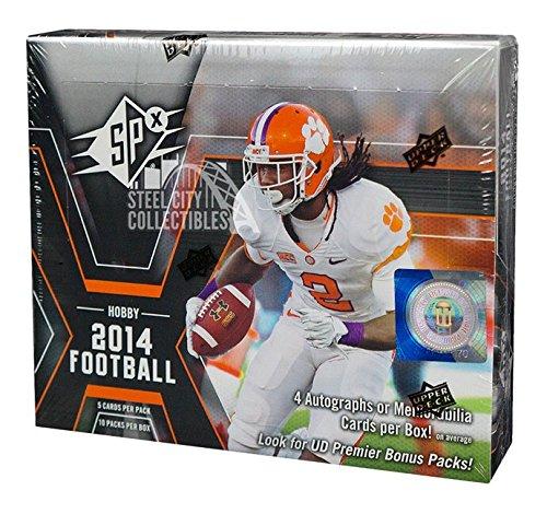 2014 Upper Deck SPx Football Hobby Box