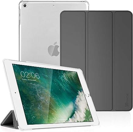 """Fintie Hülle für iPad 9.7 Zoll 2018/2017 - Ultradünn Schutzhülle mit transparenter Rückseite Abdeckung Cover mit Auto Schlaf/Wach für 9.7"""" iPad 6. Generation / 5. Generation, Himmelgrau"""