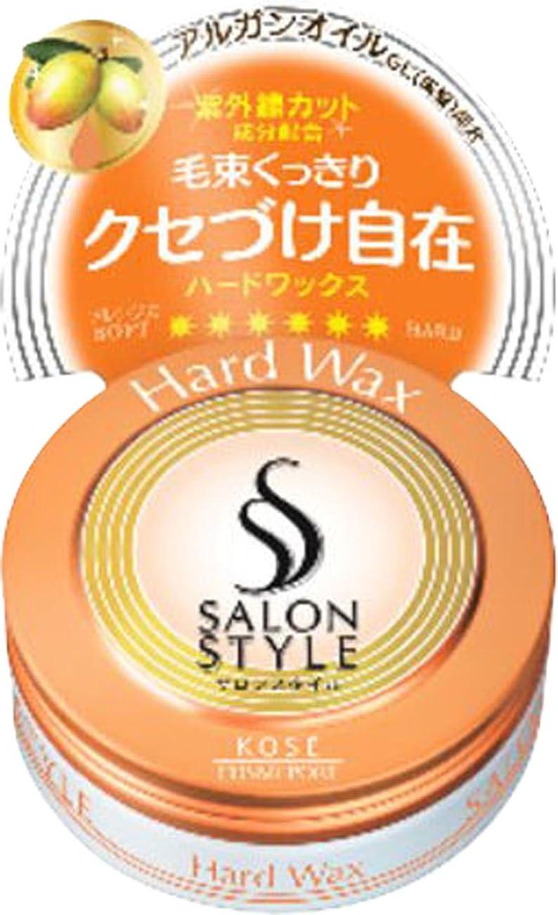 扱いやすいまたは全能KOSE コーセー SALON STYLE(サロンスタイル) ヘアワックスC ハード ミニ 23g