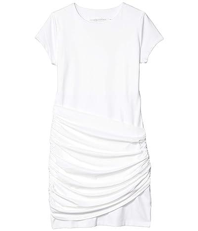 Susana Monaco Short Sleeve Gathered Overlay Dress (Sugar) Women