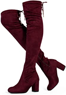 146b595c74d52 Amazon.com: Women's Boots - Over-the-Knee / Boots: Clothing, Shoes ...