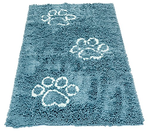Dog Gone Smart Pet Products Dirty Dog Runner Doormat, Pacific Blue