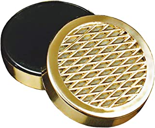 Cigar Humidifier - for Tobacco Moisturizing and Increased Humidity,Round and PVC Material, Gold Tone