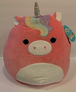 "Squishmallows 16"" Ilene The Pink Unicorn Plush Doll Collection Toy"
