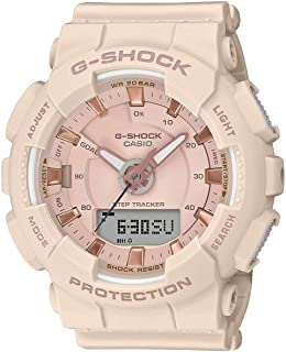GMAS130PA-4A G-Shock Step Tracker Women's Watch Soft Pink 49.5mm