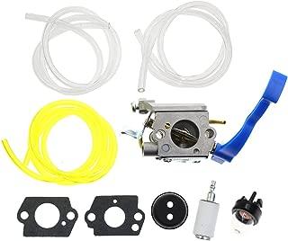 Carbhub Carburetor for Husqvarna 125B 125BVX 125BX Leaf Blower Trimmer Replaces Zama C1Q-W37 Carb with Fuel Line Kit