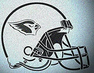 Arizona Cardinals Helmet Stencil Mylar Mancave Sports Football Stencils