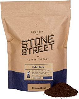 Stone Street Coffee Cold Brew Reserve Colombian Single Origin Coarsely Ground Coffee - 1 lb. Bag - Dark Roast