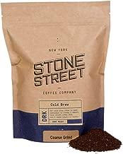 Stone Street Coffee Cold Brew Reserve Colombian Single Origin Coarsely Ground Coffee - 1 lb. Bag - Dark Roast