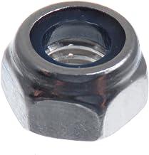 D2D DIN 985 // ISO 10511 en acier inoxydable A2 V2A contre-/écrous /Écrous autobloquants forme basse Unit/é demballage: 50 pi/èces Taille: M5