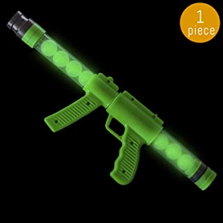 Lumistick 19 Inch Power Popper Foam Bullet Blaster Gun   Atomic Pump Dark Moon Shooter Balls Pistol   Ultra Bright Glowing Bullet Toy Handgun (1 Gun)