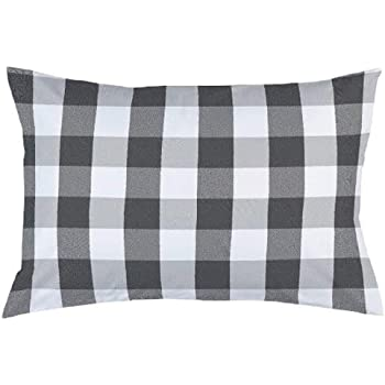 """IMSmartMart Black Hosiery Hard Cotton Bed Pillow for Perfect Neck Support (16"""" x 25"""") Hard Pillow Set of 01 Multicolored"""