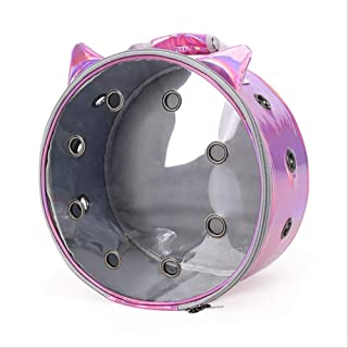 Pet Bag Carrier Carrying Backpack Portable Transparent Cat Bag Basket Outdoor Travel Pets Carrying Cage for Puppy Small Do...