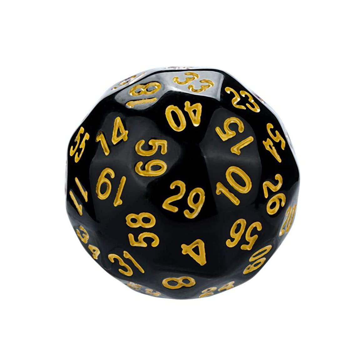 Dreamyth- 1Pcs for Game Dungeons & Dragons Polyhedral D60 Multi Sided Acrylic Dice Practical