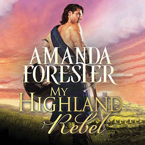 My Highland Rebel audiobook cover art