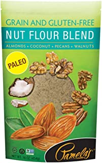 Pamela's Products Nut Flour Blend Gluten Free -- 16 oz - 2PC