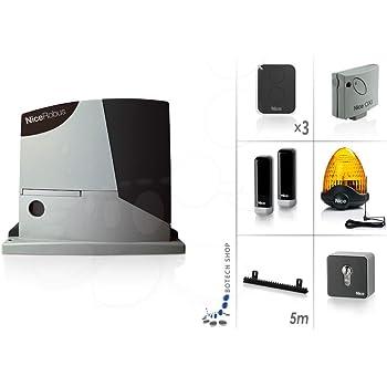 NICE ROBUS 400 Motor 24V para puertas correderas - Kit XL: Amazon.es: Bricolaje y herramientas